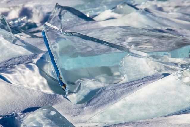 The Turquoise Ice Lake Baikal