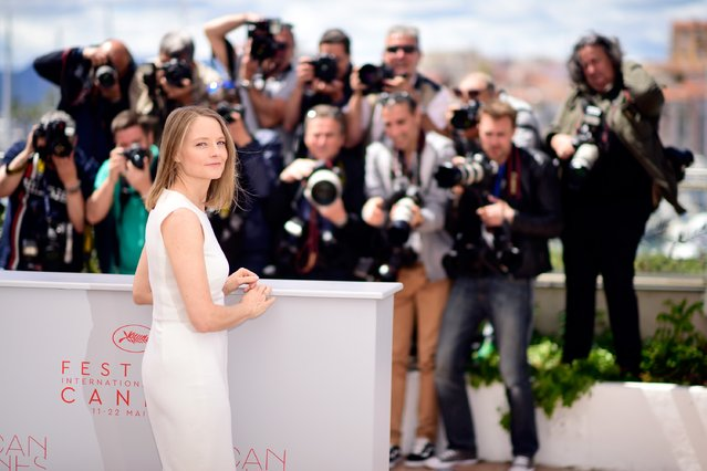 """Director Jodie Foster attends the """"Money Monster"""" Photocall during the 69th annual Cannes Film Festival on May 12, 2016 in Cannes, France. (Photo by Clemens Bilan/Getty Images)"""