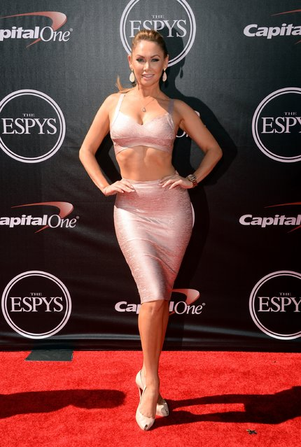 Dancer Kym Johnson attends The 2014 ESPYS at Nokia Theatre L.A. Live on July 16, 2014 in Los Angeles, California. (Photo by Jason Merritt/Getty Images)