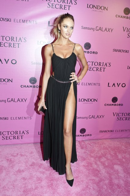 Model Candace Swanepoel attends the after party for the 2012 Victoria's Secret Fashion Show at Lavo NYC on November 7, 2012 in New York City. (Photo by Michael Stewart/FilmMagic)