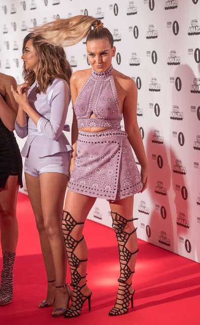 Perrie Edwards of Little Mix attends BBC Radio 1's Teen Awards at SSE Arena Wembley on October 23, 2016 in London, England. (Photo by Samir Hussein/Getty Images)