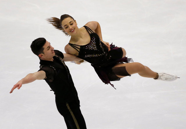 Figure Skating, ISU Grand Prix of Figure Skating NHK Trophy 2016/2017, Ice Dance Short Dance, Sapporo, Japan on November 26, 2016. Anastasia Cannuscio and Colin McManus of the U.S. compete. (Photo by Issei Kato/Reuters)