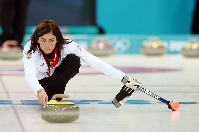 Winter Olympics: Curling star Eve Muirhead believes Team GB are on the brink of something special. (Photo by David Davies/PA Wire)