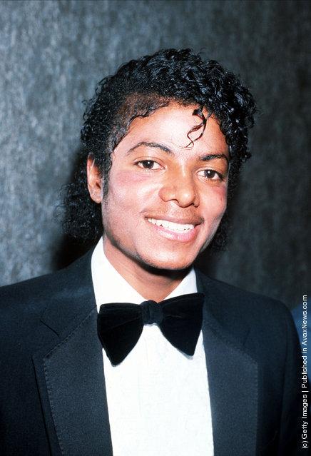 Singer Michael Jackson in 1983 in London
