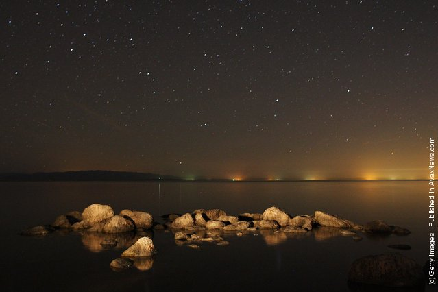Stars are seen in abundance at the Salton Sea
