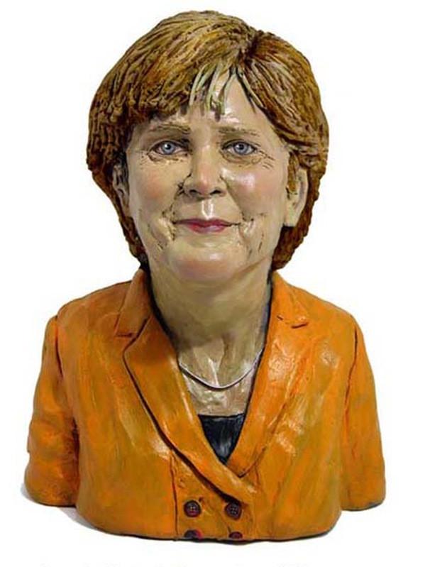 Plasticine And Clay Sculptures Celebrity Portraits By Karen Caldicott