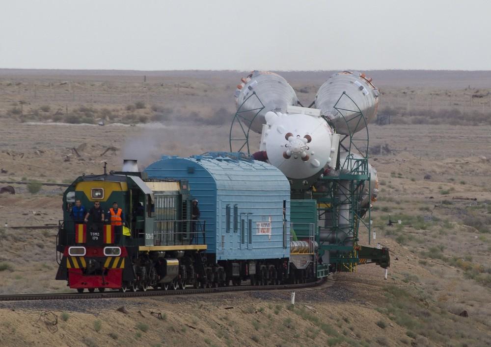 Soyuz TMA-18M Spacecraft Preparing to Start