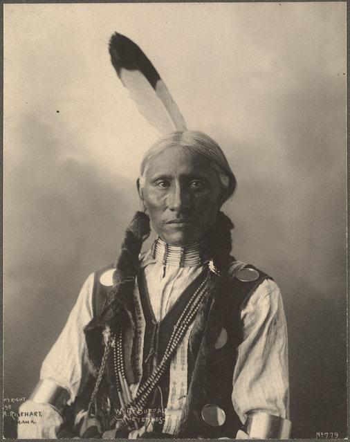 White Buffalo, Cheyennes, 1899. (Photo by Frank A. Rinehart)