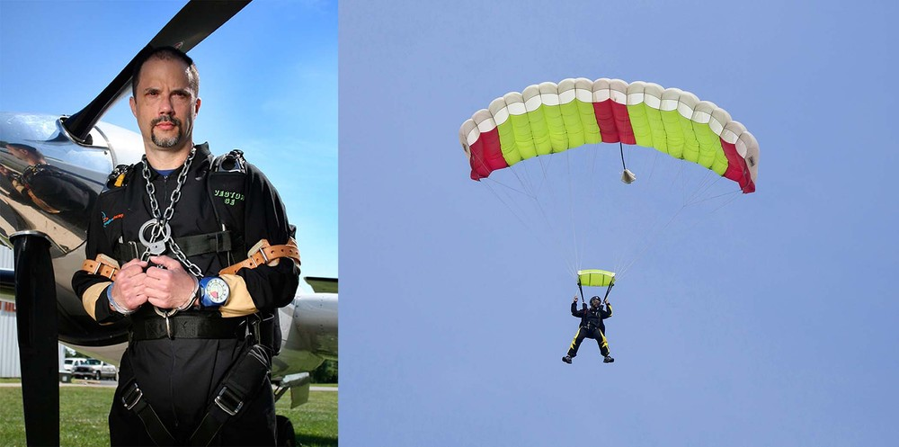 Escape Artist Anthony Martin Faces Coffin Skydive at 14,500 Feet