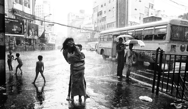 "Malhaar (""Malhaar"" means rain in Hindi). Kolkata, 2012. (Photo by Debmalya Sinha)"
