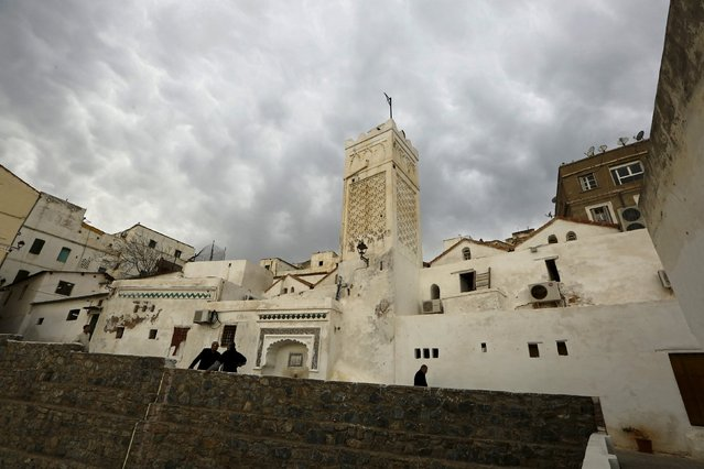 Sidi Ramdane mosque stands in the old city of Algiers Al Casbah, Algeria December 3, 2015. Sidi Ramdane mosque is 10 centuries old, was restored after being threatened by collapse. (Photo by Zohra Bensemra/Reuters)