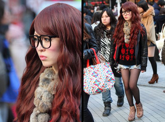 """There's a look"". Shibuya, 2012. (Asian (Street) Impressions)"
