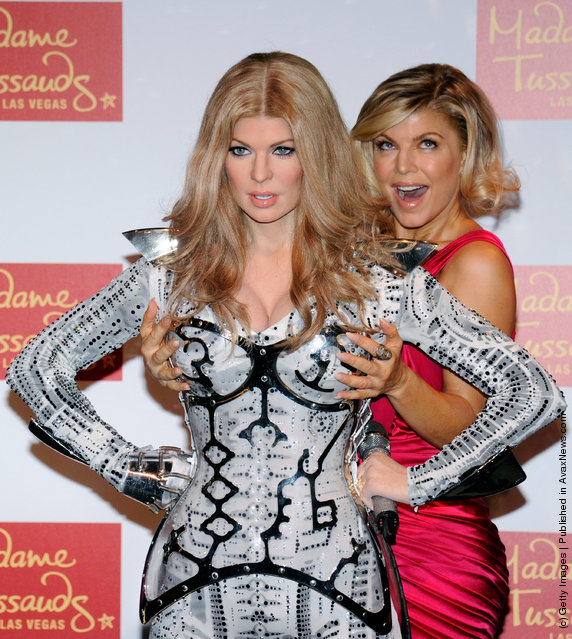 Stacy Fergie Ferguson Of Black Eyed Peas Wax Figure