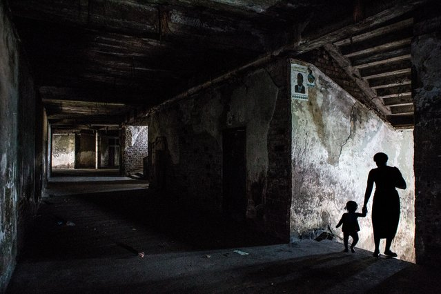 After the hotel was completely abandoned in the 1970s, it was looted and people moved into the building, especially those who fled the conflict. (Photo by Fellipe Abreu/The Guardian)