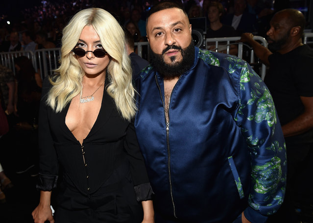 Singer Bebe Rexha (L) and DJ Khaled attend the 2017 Billboard Music Awards at T-Mobile Arena on May 21, 2017 in Las Vegas, Nevada. (Photo by John Shearer/BBMA2017/Getty Images for dcp)