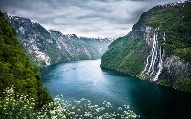 Seven Sisters Waterfall, Norway