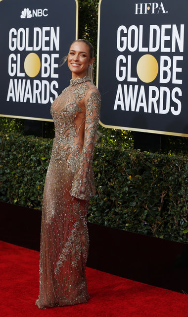 Kristin Cavallari arrives at the 76th annual Golden Globe Awards at the Beverly Hilton Hotel on Sunday, January 6, 2019, in Beverly Hills, Calif. (Photo by Mike Blake/Reuters)