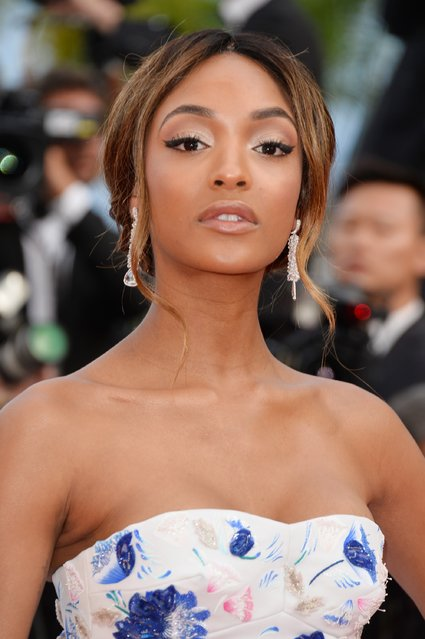 "Jourdan Dunn attends ""The Unknown Girl (La Fille Inconnue)"" Premiere during the 69th annual Cannes Film Festival at the Palais des Festivals on May 18, 2016 in Cannes, France. (Photo by Pascal Le Segretain/Getty Images)"