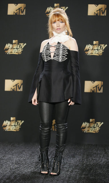 Stef Dawson attends the 2017 MTV Movie And TV Awards at The Shrine Auditorium on May 7, 2017 in Los Angeles, California. (Photo by Danny Moloshok/Reuters)