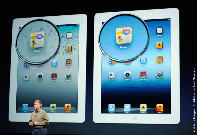 Apple Unveils Updated iPad 3 (iPad HD) In San Francisco