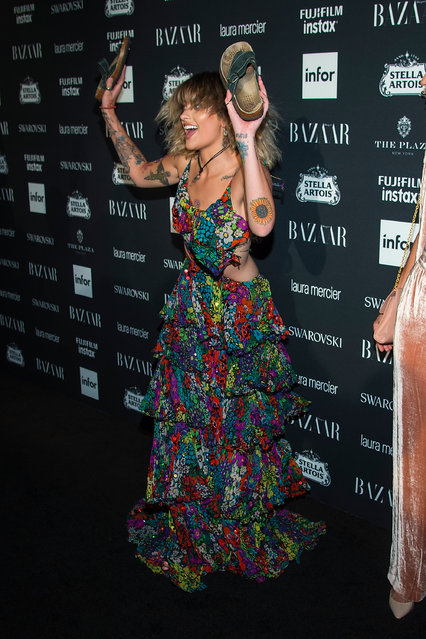 Paris Jackson attends 2017 Harper's Bazaar Icons at The Plaza Hotel on September 8, 2017 in New York City. (Photo by Michael Stewart/Getty Images)