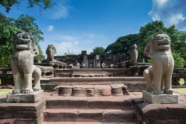 #2. Thailand, Total GDP: USD 406.8 billion (2016). Contribution of Travel and Tourism to GDP: 20.6%. Here: Prasat Hin Phimai Historical Park In Thailand. (Photo by Sorawit123/Getty Images/iStockphoto)