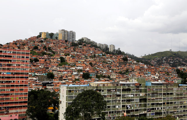 A general view of the neighbourhood of Sierra Maestra is seen in Caracas, Venezuela September 8, 2016. (Photo by Henry Romero/Reuters)