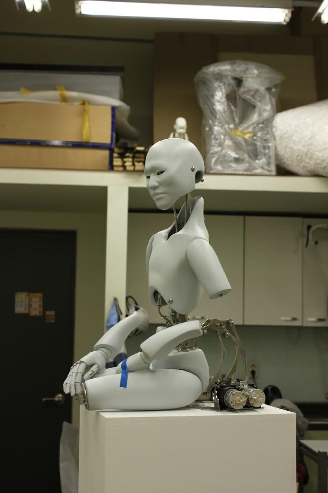 Wang Zi Won's Mechanical Buddhas
