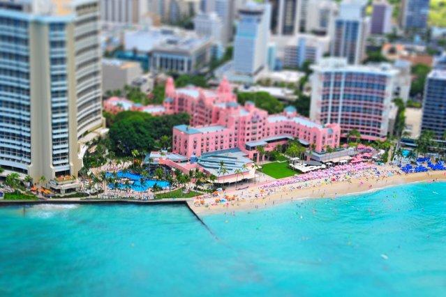 Waikiki Beach, Hawaii. (Photo by Richard Silver)
