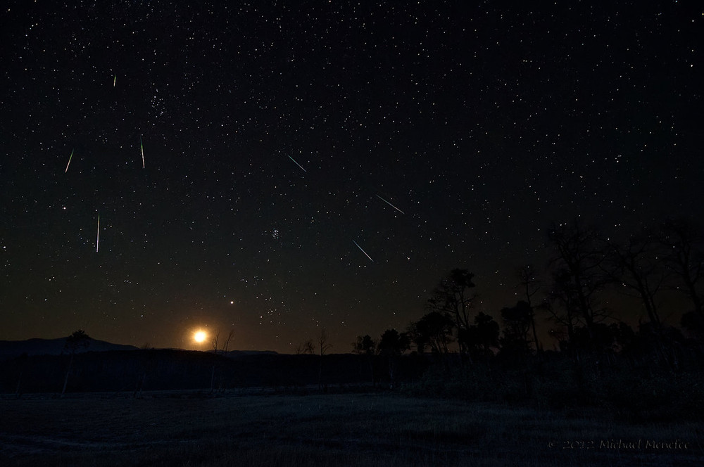 Perseid Meteors Will Light up Night Sky on Monday