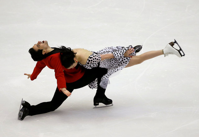 Figure Skating, ISU Grand Prix of Figure Skating NHK Trophy 2016/2017, Ice Dance Short Dance, Sapporo, Japan on November 26, 2016. Anna Cappellini and Luca Lanotte of Italy compete. (Photo by Issei Kato/Reuters)