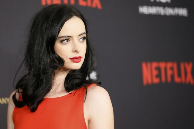 Actress Krysten Ritter arrives at The Weinstein Company & Netflix Golden Globe After Party in Beverly Hills, California January 10, 2016. (Photo by Danny Moloshok/Reuters)