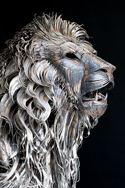 Metal Lion By Selcuk Yılmaz