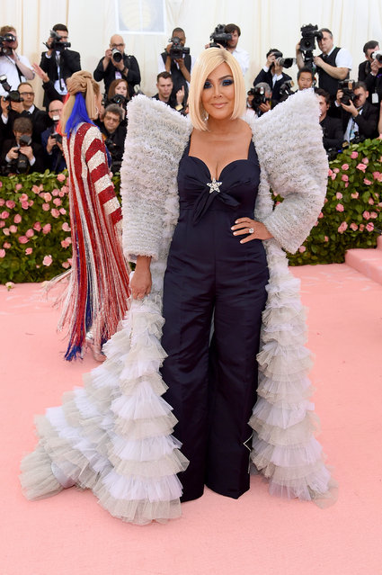 Kris Jenner attends The 2019 Met Gala Celebrating Camp: Notes on Fashion at Metropolitan Museum of Art on May 06, 2019 in New York City. (Photo by Jamie McCarthy/Getty Images)