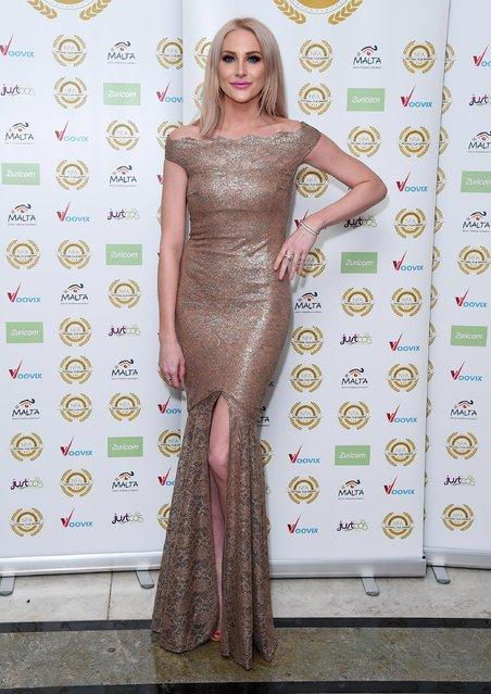 Stephanie Pratt attends the National Film Awards on March 29, 2017 in London, United Kingdom. (Photo by Eamonn M. McCormack/Getty Images)