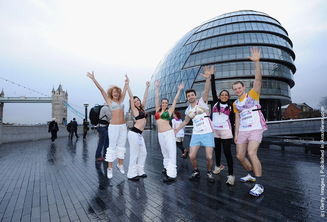 Team Pants And Bra Hit The Streets Of London
