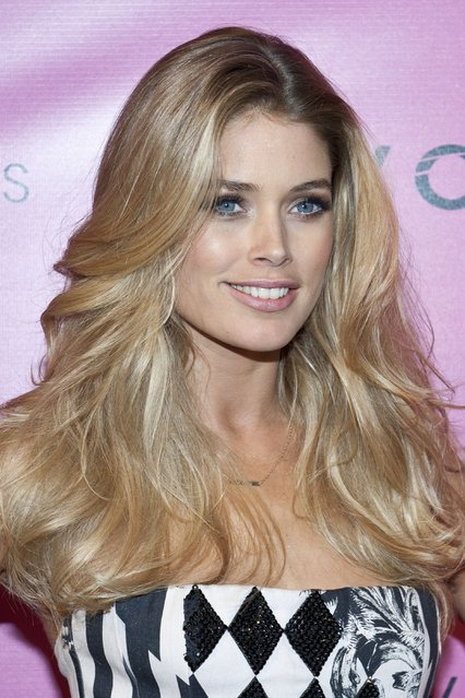 Model Doutzen Kroes attends the after party for the 2012 Victoria's Secret Fashion Show at Lavo NYC on November 7, 2012 in New York City. (Photo by Jim Spellman/WireImage)