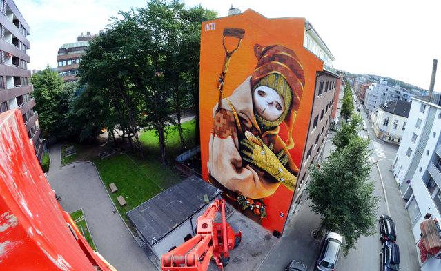 INTI en Oslo, 2012. (Photo by Leon Calquin)