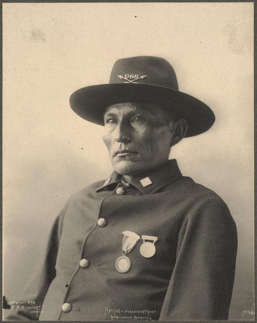 Naiche – Hereditary Chief, Chiricahua Apaches, 1899. (Photo by Frank A. Rinehart)