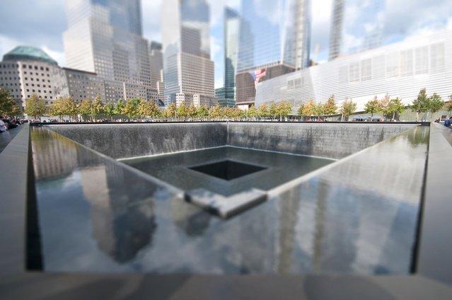 World Trade Center Memorial. (Photo by Richard Silver)