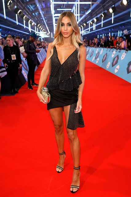 Ann-Kathrin Broemmel attends the MTV Europe Music Awards 2016 on November 6, 2016 in Rotterdam, Netherlands. (Photo by Andreas Rentz/Getty Images for MTV)