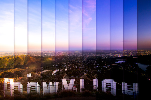 Hollywood: 11 photographs, 1 hour 15 minutes. (Photo by Daniel Marker-Moors/Caters News)