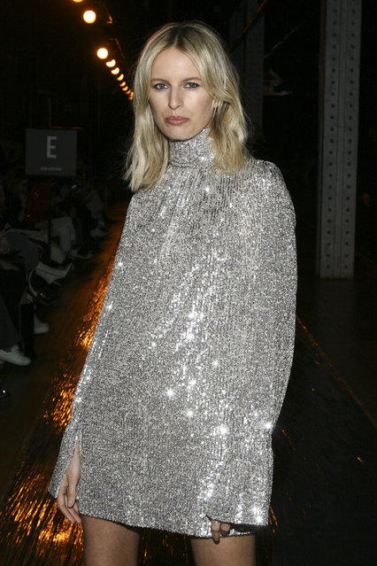 Karolina Kurkova attends the NYFW Fall/Winter 2019 Zadig & Voltaire fashion show at The Tunnel on Monday, February 11, 2019, in New York. (Photo by Andy Kropa/Invision/AP Photo)