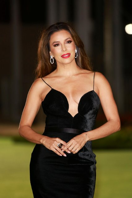 American actress Eva Longoria attends the Academy Museum of Motion Pictures gala in Los Angeles, California, U.S., September 25, 2021. (Photo by Ringo Chiu/Reuters)