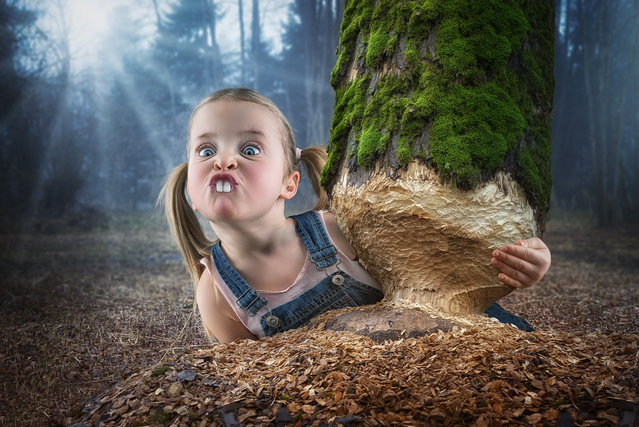 """Just a little beaver"". (John Wilhelm)"