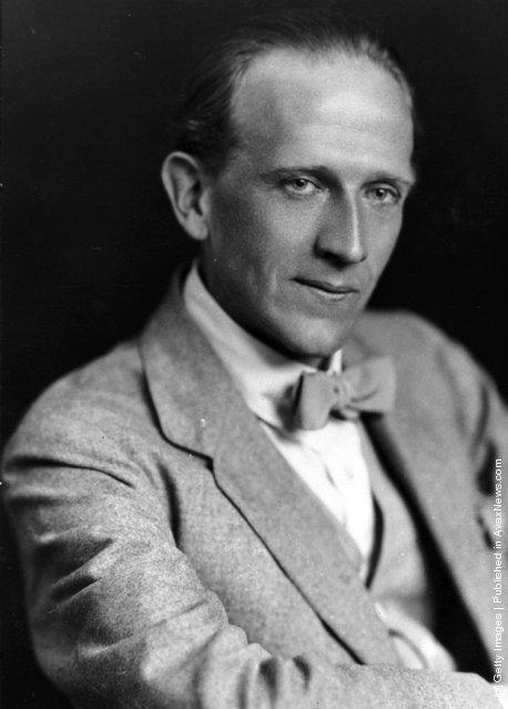 A. A. Milne, 1920