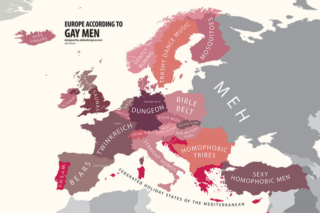 Europe According to Gay Men
