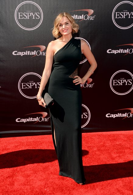 Actress Sunny Mabrey  attends The 2014 ESPYS at Nokia Theatre L.A. Live on July 16, 2014 in Los Angeles, California. (Photo by Jason Merritt/Getty Images)