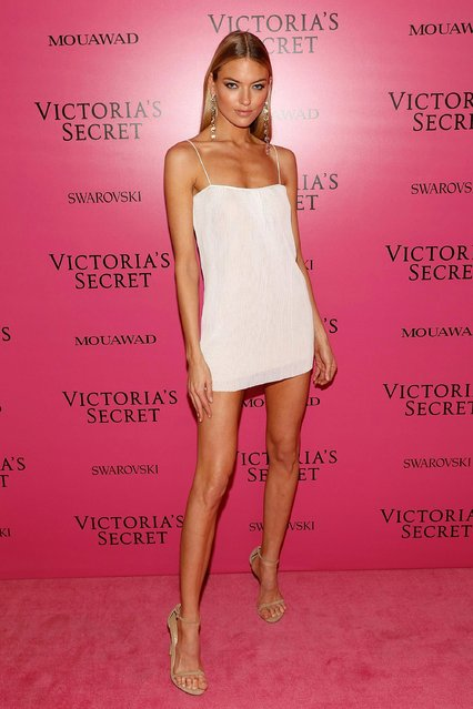 Martha Hunt attends the 2017 Victoria's Secret Fashion Show After Party on November 20, 2017 in Shanghai, China. (Photo by Taylor Hill/WireImage)