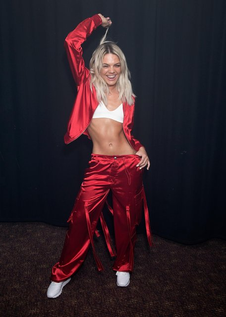 The UK X Factor winner Louisa Johnson performs at G-A-Y on March 24, 2018 in London, England. (Photo by Jo Hale/Redferns)